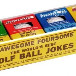 Awesome 4 Golf Balls
