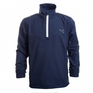 Puma Golf 1/2 Zip Wind Jacket Jr Golftakki Lila
