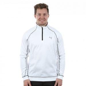 Puma Golf Fleece 1/4 Zip Popover Golfpaita Valkoinen