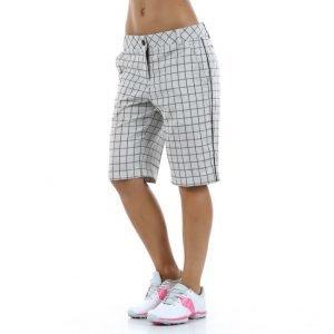 Puma Golf Pattern Tech Bermuda Shorts Golfshortsit Valkoinen / Musta