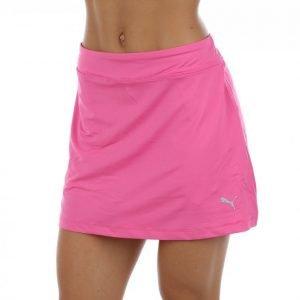 Puma Golf Solid Knit Skirt Golfhame Roosa