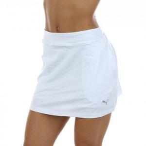 Puma Golf Solid Knit Skirt Golfhame Valkoinen