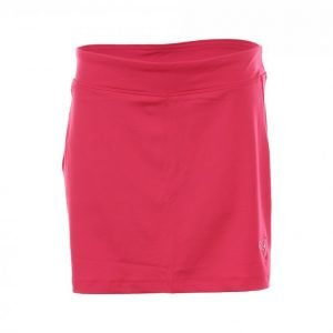 Puma Golf Solid Knit Skirt Jr Golfhame Punainen