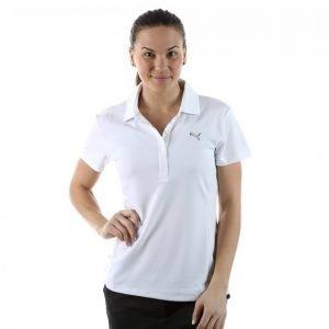 Puma Golf W Tech Polo Golfpikee Valkoinen