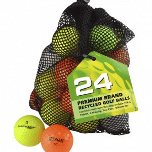 Second Chance 24 Mixed Color Lake Balls Golfpallo