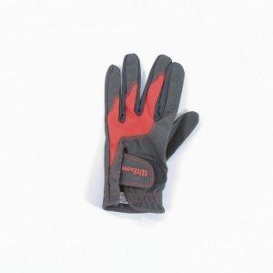Wilson Staff Junior Glove Golfhanska Punainen / Musta